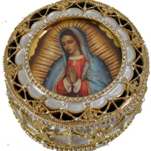 Guadalupe Rosary Box #488-G-0