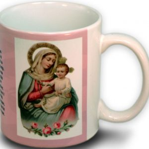 Our Lady of the Rosary 15 Ounce Mug #150-OLRB-0