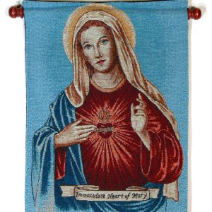Immaculate Heart 13x18 Wall Hanging #1318-IHM-0