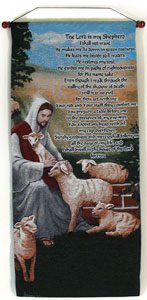 Good Shepherd 18x40 Wall Hanging #1840-GS-0
