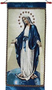 Our Lady of Grace 18x40 Wall Hanging #1840-OLG-0