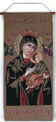 Our Lady of Perpetual Help 18x40 #1840-PH-0