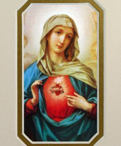 Immaculate Heart of Mary 3x5 Mat #35MAt-IHM(m)-0