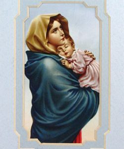 Madonna of the Streets 3x5 Prayerful Mat #35MAT-MS-0