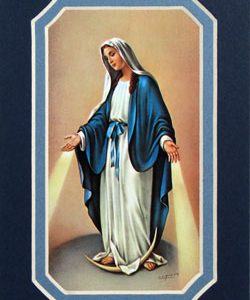 Our Lady of Grace 3x5 Prayerful Mat #35MAT-OLG-0