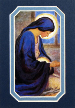 Our lady of the unborn
