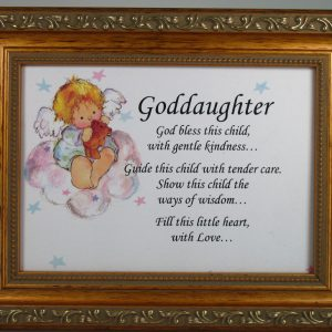 Goddaugther 5x7 Plaque #57F-GDK-0