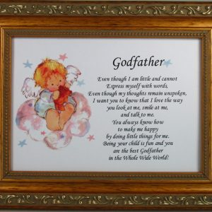 Godfather 5x7 Gold Plaque #57GFK-0