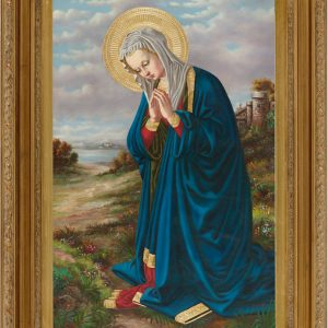 Madonna in Prayer Oil Canvas Painting-0