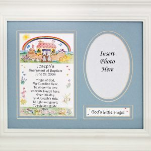 Personalized Boy Baptism Plaque #MFS-NARKB-P-0