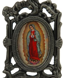 Our Lady of Guadalupe Mini Oval Frame #MPFO-G-0