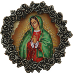 Our Lady of Guadalupe Mini Frame #MPF-G-0
