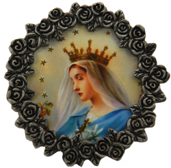 Queen of Heaven Mini Frame #MPF-QH1-0