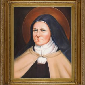 St. Therese Oil Canvas Painting-0