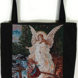 Guardian Angel Woven Tote Bag #TB-GA-0