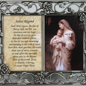L'Innocence Pewter Frame with prayer #23DPF-IN-0