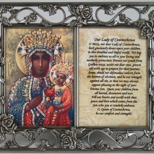 Our Lady of Czestochowa Frame #23DPF-OLCz-0
