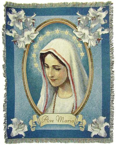 Ave Maria Blanket #COV-AVE-0