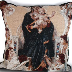 Our Lady of the Angels Pillow #PILL-QA-0