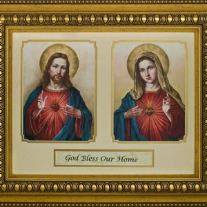 God Bless Our Home 12x16 Plaque #216-HB10-0