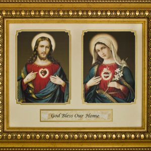God Bless Our Home 12x16 Plaque #216-HB7-0