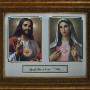 God Bless Our Home 11x14 Gold Plaque #5480-HB4-0