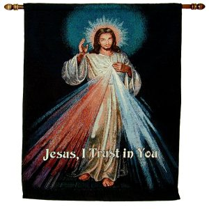 The Divine Mercy Wall 26x36 Hanging #WH-DM-0