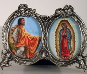 Our Lady of Guadalupe/Juan Diego Desk Ornament #2310-0