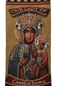 Our Lady of Czestochowa Wall Hanging #1840-OLCz-0
