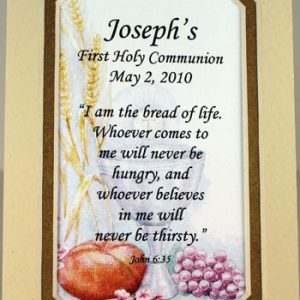 Personalized Communion Mat #35MAT-COM3-P-0