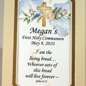 Personalized Communion Mat #35MAT-COM2-P-0