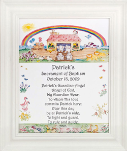 Personalized Baptism Plaque #810F-NARK-0