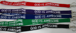 God is Awesome Lanyard-0
