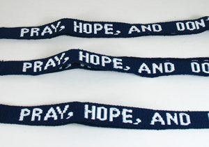 Pray, Hope and Don't Worry Lanyard-0