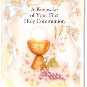 First Communion Keepsake Book with Rosary #11200-CD-0