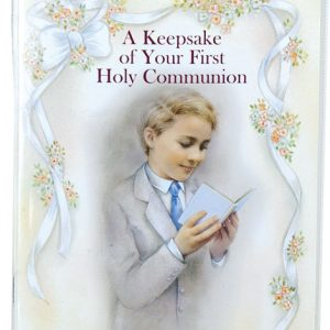First Communion Keepsake Book with Rosary #11400-COB-0