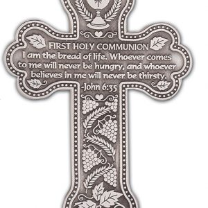 First Communion Cross PMC112-0