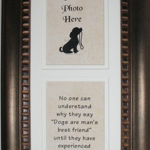 Man's Best Friend Memorial Frame #4624-D2-0
