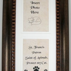 Protect My Cat Frame #4624-STFC-0