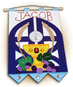 First Communion Banner Kit for Boy-0