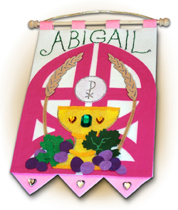 First Communion Banner Kit for Girl-0